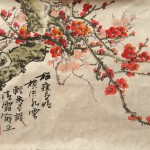 Traditional Chinese Painting Bird Flower Slight