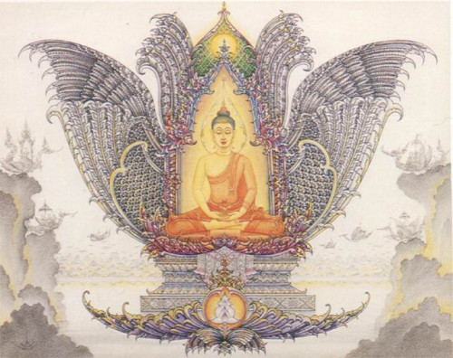 Transcultural Buddhism Contemporary Buddhist Art From Thailand