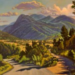 Traveled Art West Alan Heuer Oil Painting Canvas