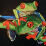Tree Frogs Painting Nathan Buhler Fine Art Prints And