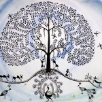 Tree Life Greeting Card Anjali Vaidya