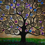 Tree Life Painting Samantha Black The Fine Art