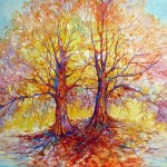 Tree Life Series Artist Marcia Baldwin Duo Sold