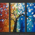 Trees Art Paintings