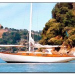 Truck Motorcycle And Power Sailboat Paintings Portrait Artist Joseph