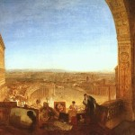 Turner Rome From The Vatican Painting Framed Paintings For Sale