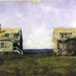 Twin Houses Jamie Wyeth Wikipaintings