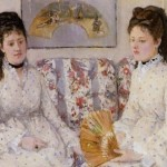 Two Sisters Couch Berthe Morisot Oil Painting Reproduction