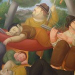 Typical Botero Painting