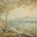 Ukauctionnews Jmw Turner Painting Kirkby Lonsdale Churchyard