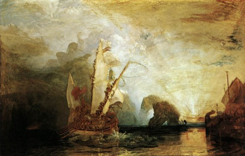 Ulysses Deriding Polyphemus William Turner Wikipaintings