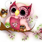 Under Her Wings Mother Day Owl Art Fantasy Concettasdesigns