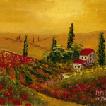 Under The Tuscan Sun Painting Fine Art Print