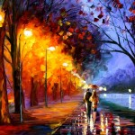 Unknown Artist Romantical Love Painting