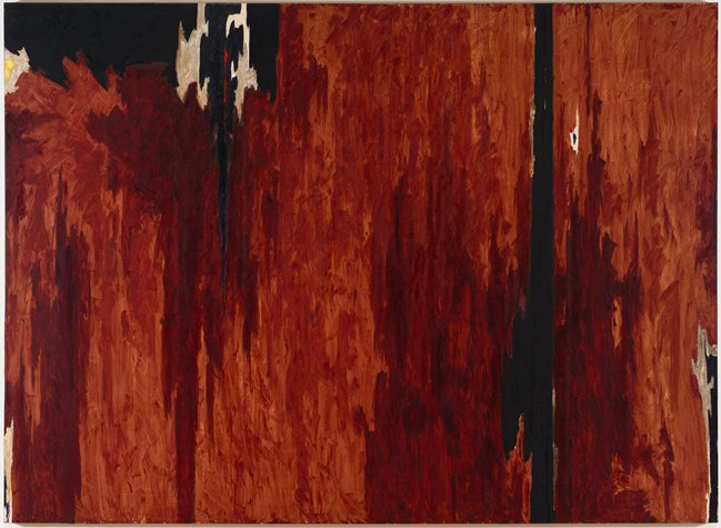Untitled Clyfford Still Wikipaintings
