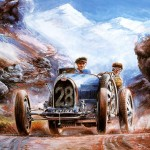 Vaclav Zapadlik Classic Car Painting Art Paintings