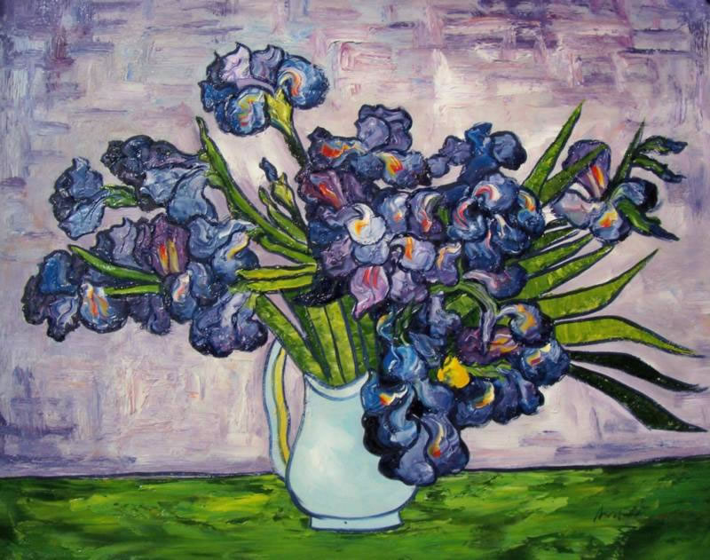 Van Gogh Flowers Famous Flower Paintings Vincent