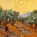 Van Gogh Paintings Vincent Olive Trees Painting
