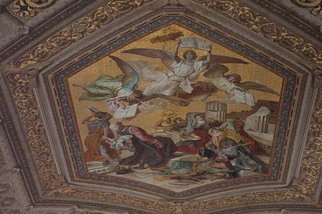 Vatican Museum Ceiling Painting Flickr Sharing