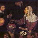 Velasquez Old Woman Poaching Eggs Bytes