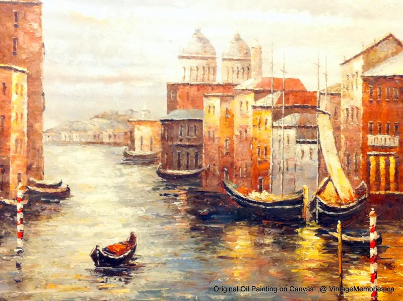 Venice Italy Oil Painting