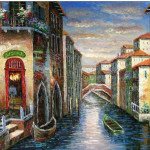 Venice Oil Painting Paintings Cities Rio