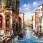 Venice Oil Painting Tidebuy