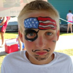 View Image Patriotic Pirate Face Painting