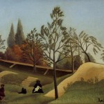 View The Fortifications Henri Rousseau Oil Reproduction