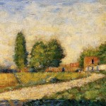 Village Road Georges Seurat China Oil Painting Gallery
