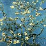 Vincent Van Gogh Oil Painting Branches Almond Art Love