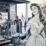 Vintage Everyday Western Dames Art And Advertising