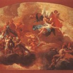Virgin Mary Queen Martyrs Oil Painting Reproduction