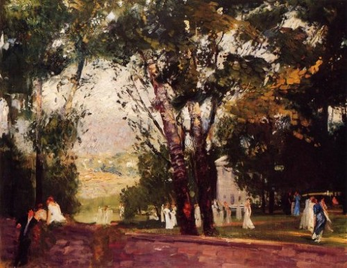 Virginia George Bellows Oil Painting Reproduction