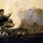 Vision Black Painting Francisco Goya Paintings Image