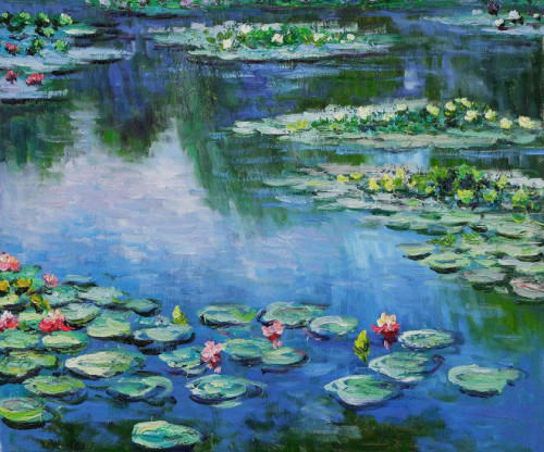 Visit Monet Paintings United Blogs Benetton