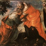 Visitation Tintoretto Wikipaintings