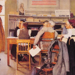 Visits Ration Board Norman Rockwell Wikipaintings