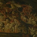 Vivid Depiction Hell The Front Albi Cathedral