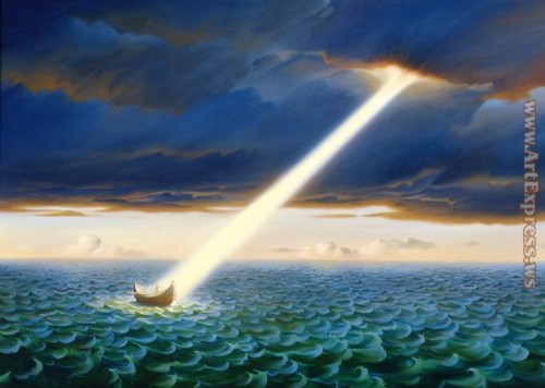 Vladimir Kush Paintings Ulysses Painting