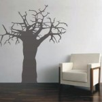Wall Decals Large Boabab Tree Vinyl Art Stickers Was