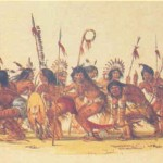 War Dance George Catlin Wholesale Oil Painting China Picture Frame