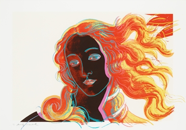Warhol Venus Just Because Gorgeous Andy Artnet