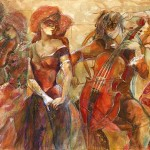 Was First Painting This Current Series Musical Art