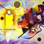Wassily Kandinsky Paintings Yellow Red Blue