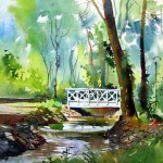Watercolor Paintings Landscapes Designs Wiki All About