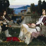 Waterhouse John William Saint Cecilia