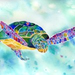 Weed Sea Turtle Painting Lynch Fine Art