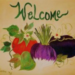 Welcome Kitchen Painting Fine Art Print