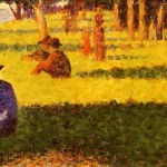 White Dog Georges Seurat Wikipaintings